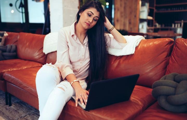 Millennial East Indian Businesswoman - Modern